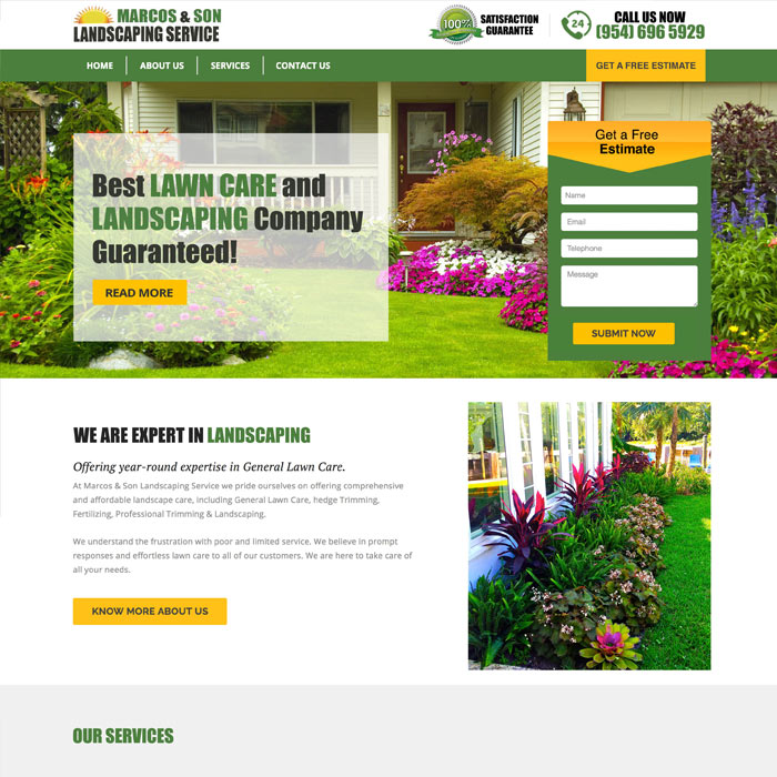Marcos and Son Landscaping